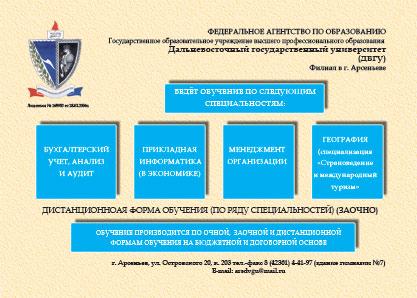 ДВГУ, университет (филиал г. Арсеньева)