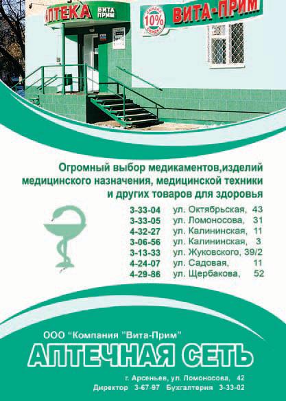 Вита-Прим, аптечная сеть