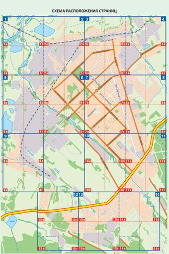 Схема города (сектора)